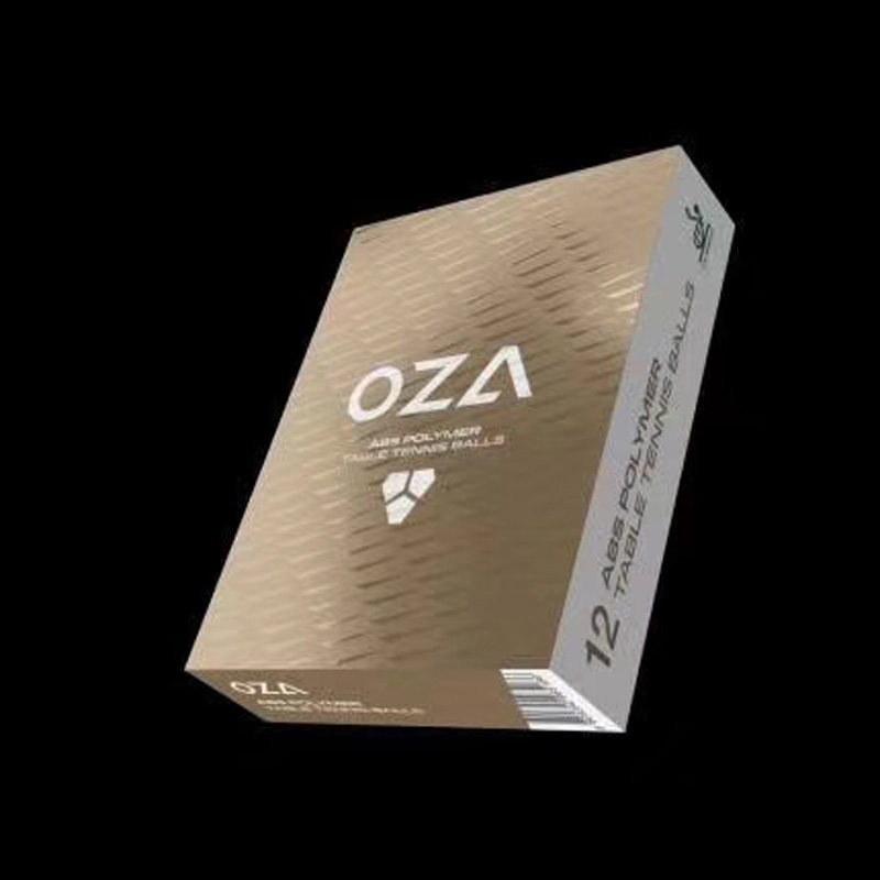 12 Balls XIOM 2019 Latest OZA 3-Star Table Tennis Balls (With Seam, ABS 40+) Plastic Ping Pong Balls ITTF Approved