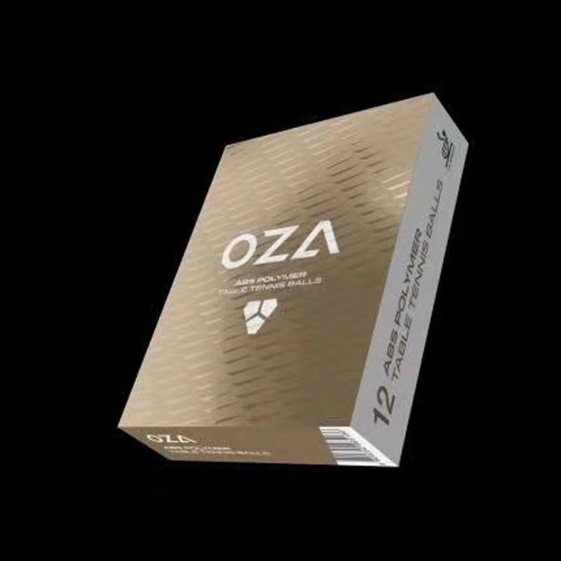 12 balles XIOM OZA balles de Ping-Pong 3 étoiles (avec couture, ABS 40 +) balles de Ping-Pong en plastique homologuées ITTF