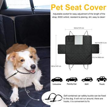 Fabulous Car Dog Backseat Cover Auto Rear Row Pad Seat Cover With Short Links Chair Design For Home Short Linksinfo