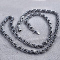 5/6MM Link Chain 925 Sterling Silver Necklace Men 100% S925 Solid Thai Silver Chains Necklaces for Women Jewelry Making