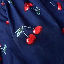 Girl's Cherry Printed Skirt