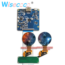 1.39 inch round amoled display screen 400*400 hdmi mipi Controller board for diy project