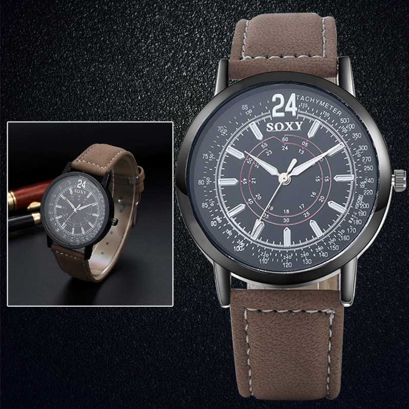 populaire herenhorloge creatieve quartz uurwerk horloge van hoge - Herenhorloges - Foto 2