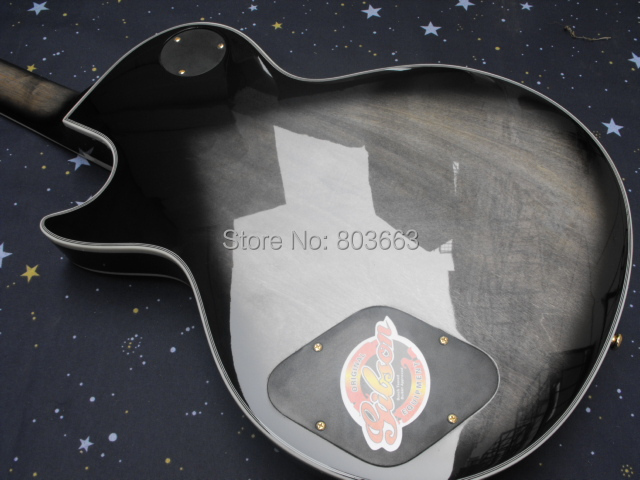 a00703794ab HOT wholesale Top quality Light Grey sunburst LP Custom Electric ...