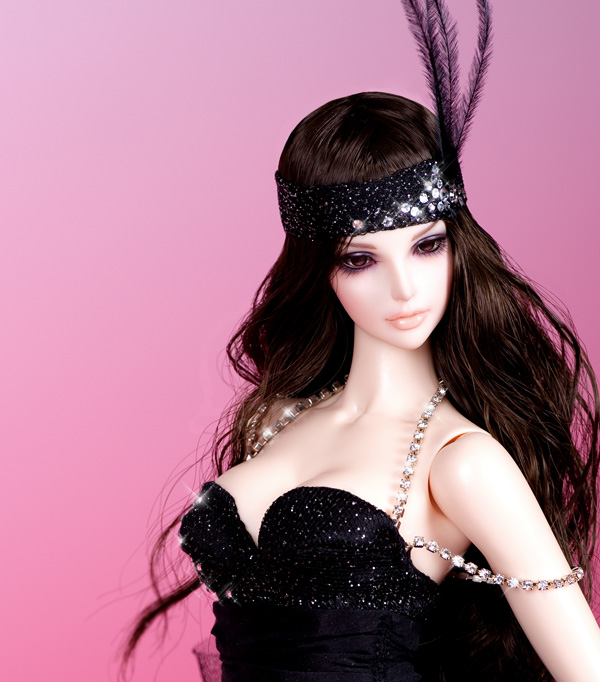 1/4 BJD / SD Doll High Quality Resin Doll Free Eyes