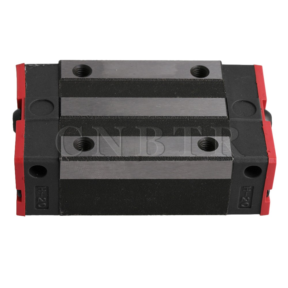 CNBTR HGH20CA Linear Guide Rail Sliding Block Carriage Rail Block Slider for HG20 Linear Rail Guideway цена