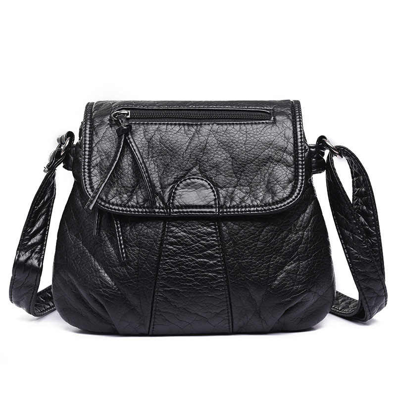 090f663a31b Detail Feedback Questions about Vintage Women PU Leather Shoulder ...