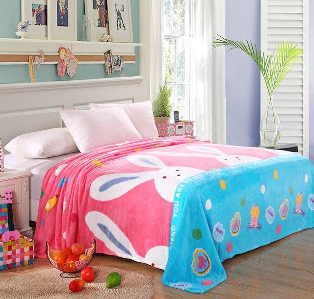 Cheap 200x230cm Hot sale big size cat brand Blankets for beds fleece warm  winter sleeping sofa blanket plaid bedspreads for girl d057d3e21
