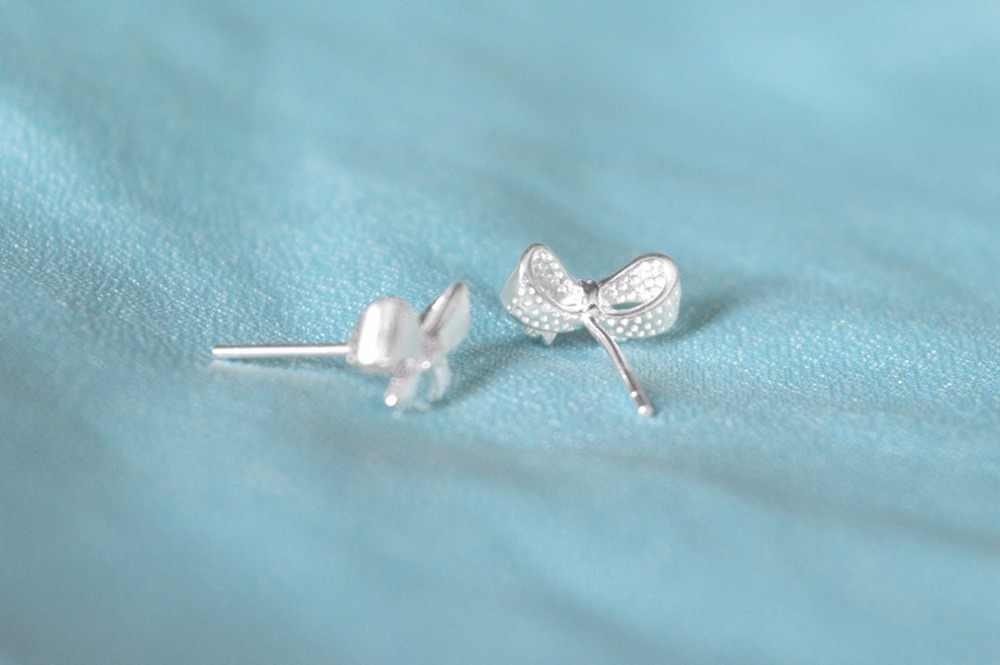 CHENGXUN 1 paire belles filles femmes boucles d'oreilles doux amour papillon noeud boucle d'oreille bijoux de mode 2018