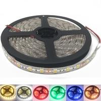 Tira de Luces LED 5050 24 V CC RGB, cinta de luz flexible impermeable de 5 metros, 60LED/MLed, Blanco cálido, 24 v