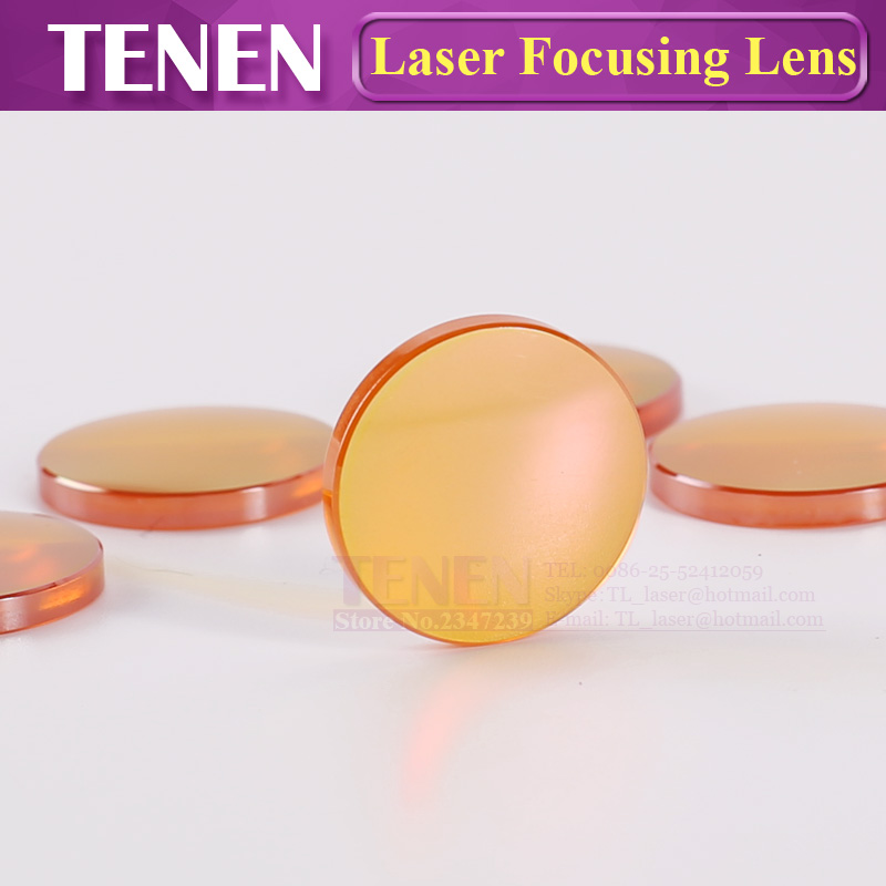 Image 3 - China PVD ZnSe Dia.12 18 19.05 20mm FL38.1 50.8 63.5 76.2 101.6mm CO2 Laser Focus Lens For Co2 Laser Cutting Engraving Machine-in Lenses from Tools