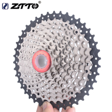 цена на ZTTO Bike Speed Cassette Freewheel 11-40T/9  11-42T/10 Speed MTB Bicycle Cassette Flywheel Sprocket Compatible with Sunrace