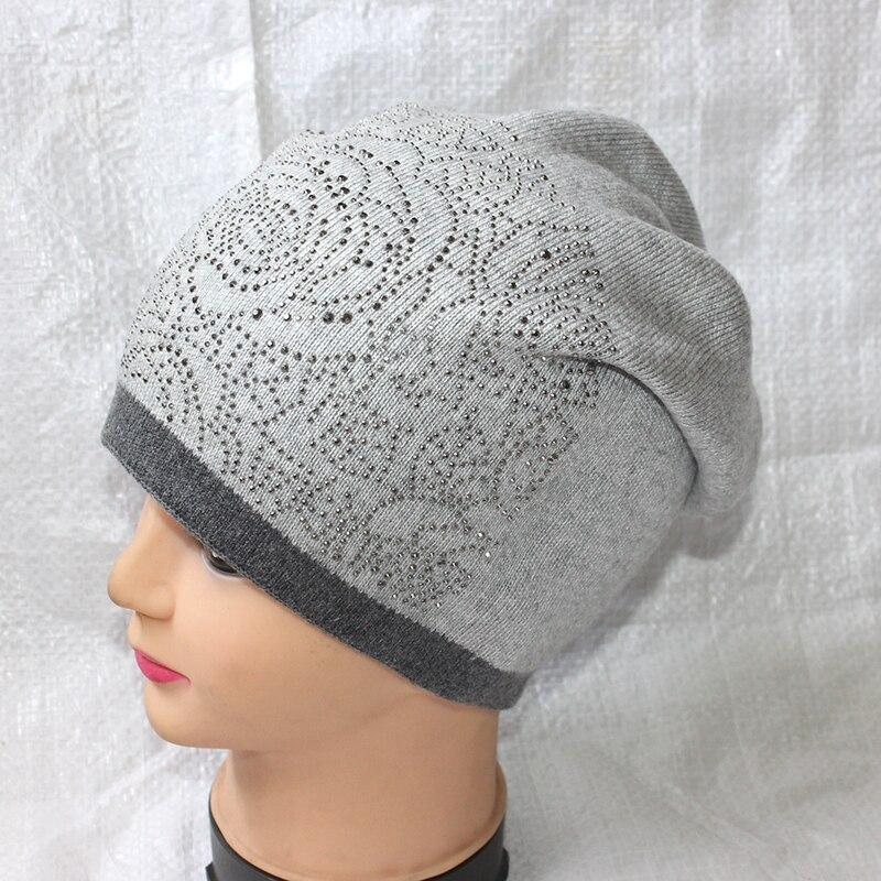 Autumn/Winter Warm Knit Wool Hat Women/Men Casual High Quality Punk Rock Soft Woolen Beanie Skullies Boy/Gilr Hip-Hop Gorro casual men s autumn and winter warm woolen yarn hat grey black
