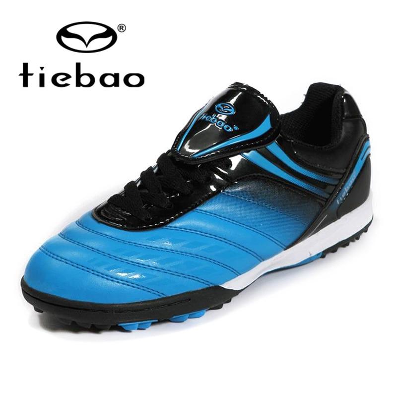 TIEBAO-chaussures de Football à Cleats   Baskets de sport professionnelles, TF chaussures dextérieur pour Football, chaussures de Football athlétiques 5 couleurs