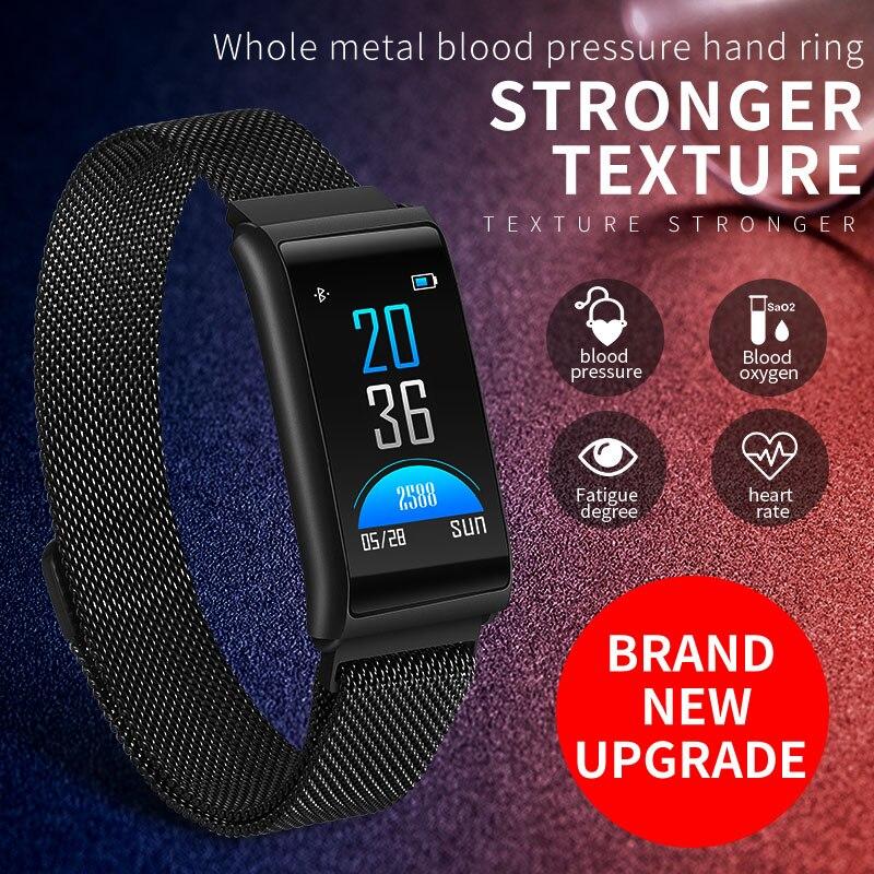 Imosi R02 Wasserdichte intelligente fitness armband schrittzähler blutdruck smart armband Android iOS fitness tracker