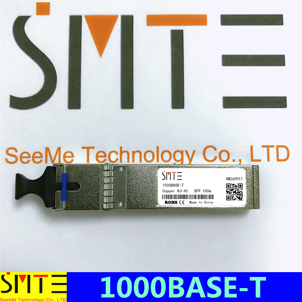 Compatible With D-Link DGS-712 1000BASE-T Copper RJ-45 100m Transceiver Module SFP