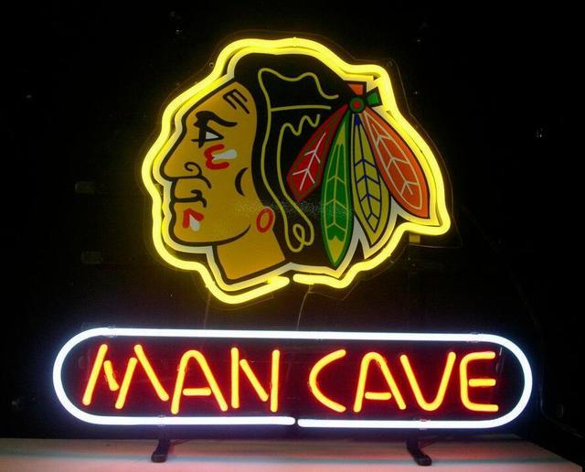 Custom MAN CAVE Neon Light Sign Beer Bar