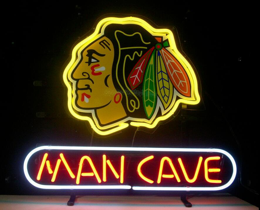 Custom MAN CAVE Glass Neon Light Sign Beer BarCustom MAN CAVE Glass Neon Light Sign Beer Bar