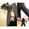 LeggingsWomen laço novo da aptidão fino patchwork inverno calças para mulheres 2016 nova moda