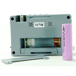 Image 5 - Portable 4 IN 1 AHD CVI TVI CVBS Fotocamera Tester IV7W 4.3 pollici LCD 5MP CCTV Tester Monitor Supporto controllo PTZ UTP cable test