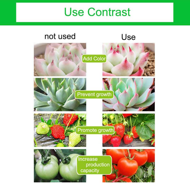 Oświetlenie LED do uprawy 220V roślin led reflektor 2835SMD 5 W E27 pełnozakresowe LED rosną lampy na kwiaty hydroponiczne rośliny Vegetab