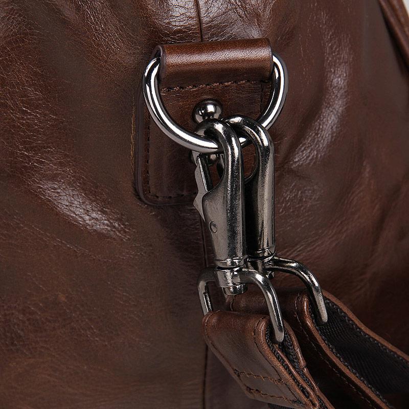 J.M.D Äkta Vintage Läder Mäns Business Briefcase Manlig Mode - Väskor för bagage och resor - Foto 6
