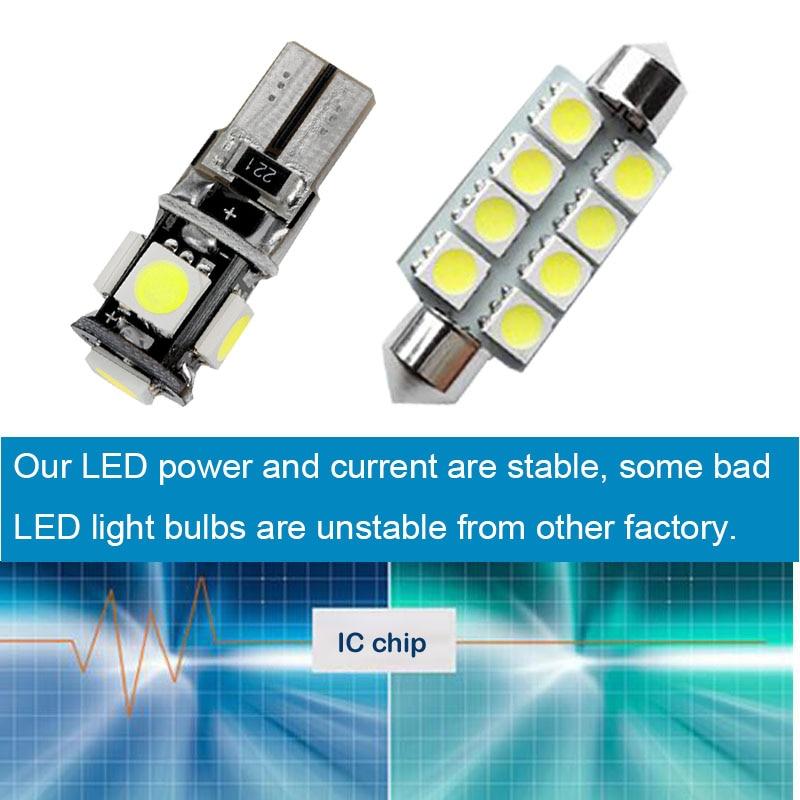 Okrasne luči za avtomobile z LED lučmi C10W W5W za Skoda hitro - Avtomobilske luči - Fotografija 4