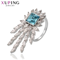 Xuping Jewelry Luxury Prom Ring Charm Style Crystals from Swarovski Elegant for Women Thanksgiving Gift S142.5 14276