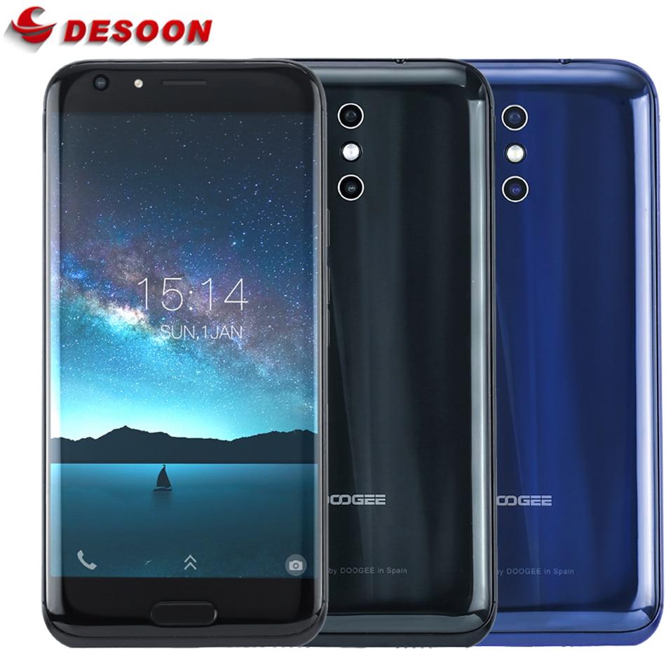 "bilder für Doogee BL5000 13MP Dual Hinten Kameras Handy 5050 mah 12 V/2A QC Vorder Touch ID 5,5 ""FHD 1080 P Octa-core 1,5 Ghz 4G Smartphone"