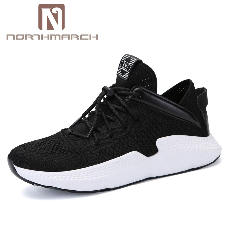 NORTHMARCH nouvelle mode chaussures hommes décontractées léger confortable hommes baskets respirant à lacets baskets chaussures de plein air pour hommes