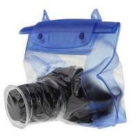 Étui étanche pour appareil photo Transparent pour Canon DSLR SLR boîtier sous-marin étui de Protection pour appareil photo numérique en PVC