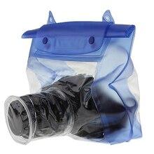 캐논 DSLR SLR 수중 하우징 파우치 케이스에 대 한 방수 투명 카메라 케이스 PVC 디지털 카메라 렌즈 건조 보호 가방