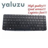 Yaluzu inglês eua teclado preto para hp 636376-001 636376-b31 636376-b31 645893-001