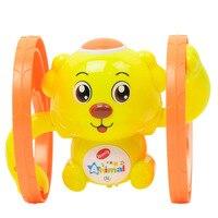 Wind up brinquedos robô cão Macaco Bateria roda carrossel música brinquedos clockwork bonito dos desenhos animados do vintage wind up clockwork brinquedos do vintage