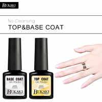 BUKAKI Basis und Top Malerei Gel Nagellack Verkauf UV/LED lampe für Gel Lack Transparent Tipps für Maniküre Esmalte für nägel
