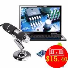 Портативный 500X к 1000X USB Цифровые микроскопы Камера увеличение эндоскопа OTG Стенд Бесплатная для Samsung Android мобильного Оконные рамы