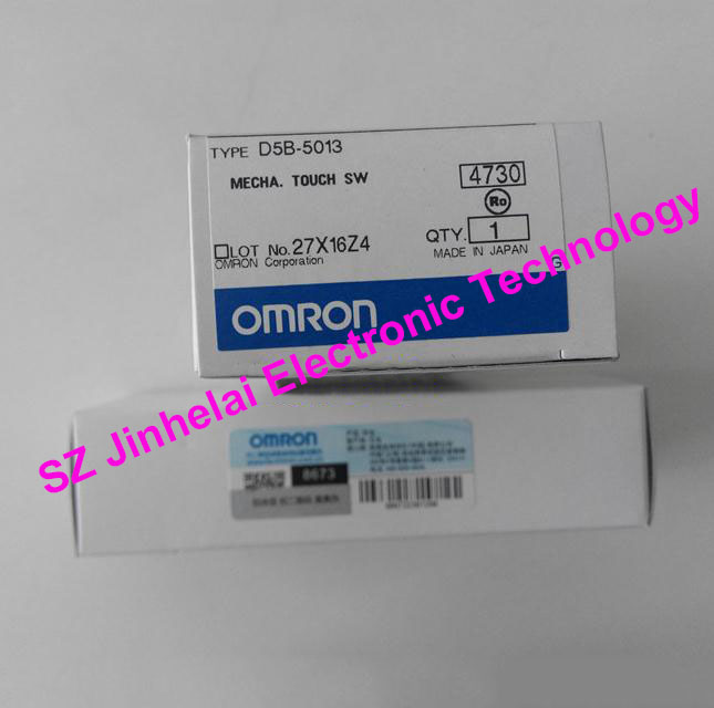 Authentic original OMRON MECHA. TOUCH SWITCH D5B-5013 массажер миостимуллятор omron soft touch