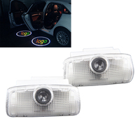2x Door Light Car Vehicle Ghost LED Courtesy Welcome Logo Light Lamp Shadow Projector For INFINITI