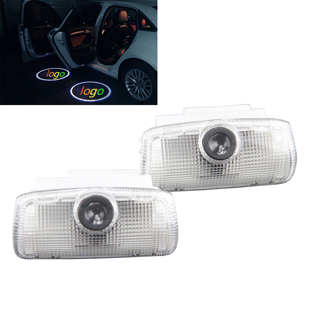 2x Door Light Car Vehicle Ghost LED Courtesy Welcome Logo Light Lamp Shadow Projector For INFINITI FX35 fx37 q50 f50 g35 g37 qx5 2 x wireless led car door logo projector welcome ghost shadow light for suzuki swift sx4 s cross jimmy alto celerio grand vitara