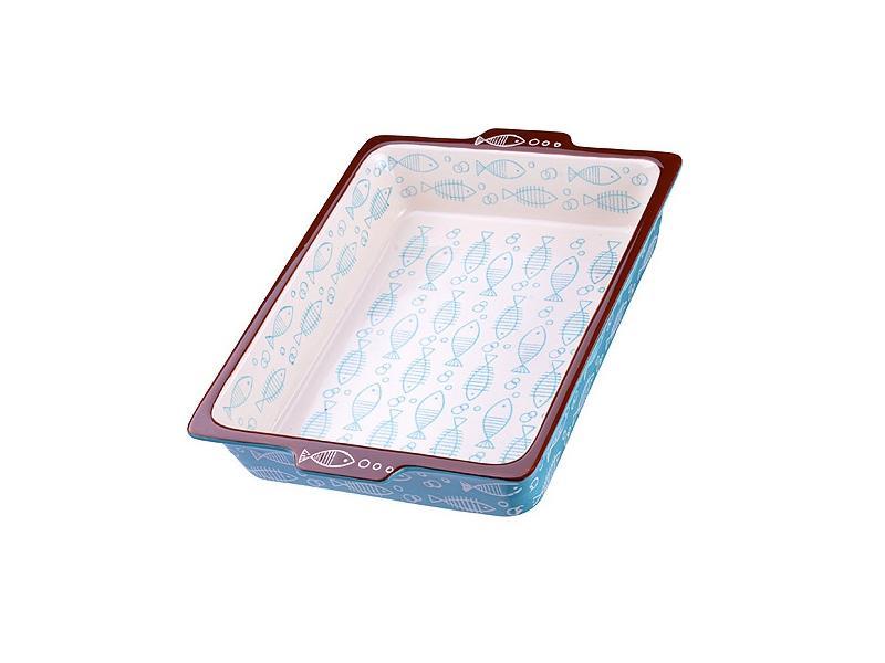 Форма для запекания LORAINE, 2,4 л, голубой