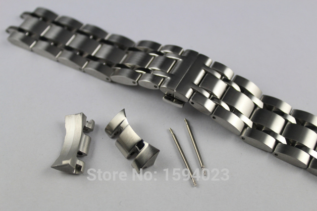 23mm T035617 T035439 New Watch Parts Male Solid Stainless steel bracelet strap W