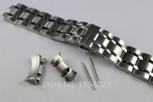 23mm T035617 T035439A Yeni Izle Parçaları Erkek Katı Paslanmaz çelik bilezik kayışı saat kordonları Için T035