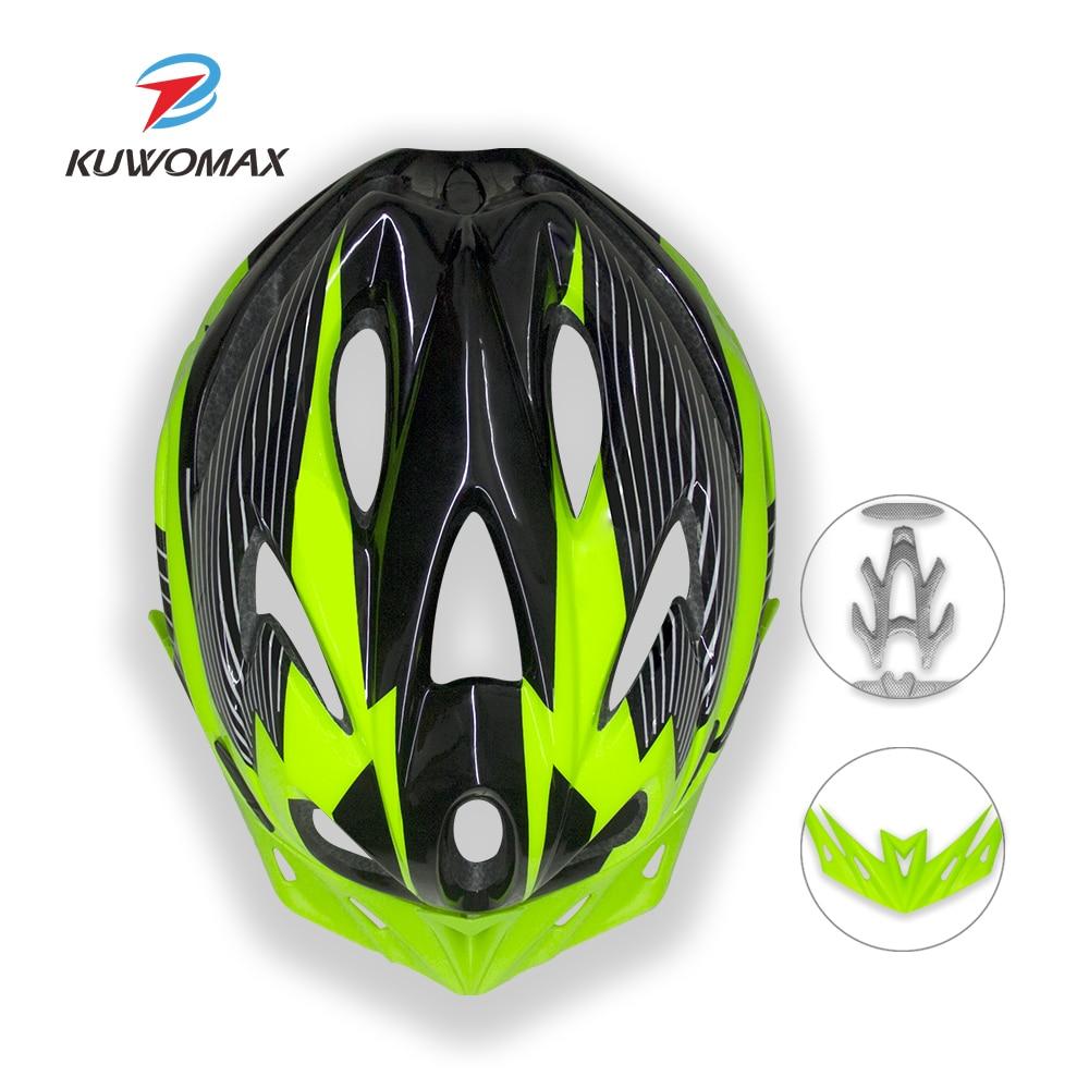 Велосипедные шлемы KUWOMAX, сверхлегкие шлемы для езды на велосипеде на открытом воздухе, раздельные шлемы для езды на горном велосипеде, велос...