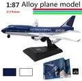 1: 87 сплава слайд Авиалайнер модель, детская модель самолета игрушки, бесплатная доставка, children's favorite