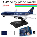 1 : 87 alloy slide Airliner model,Children's plane model toys, free shipping, children's favorite