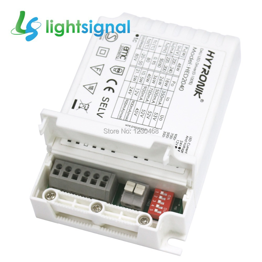 hight resolution of 40w dali dimmable led driver led power supply with multiple constant current output 350 900ma 12 24vdc dali switch dimming in lighting transformers from