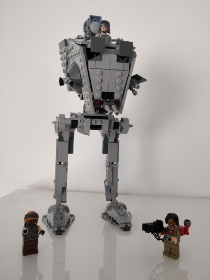 Star WarsThe Rogue One AT-ST Walker Set Model Building Blocks Toys Compatible with Legoings