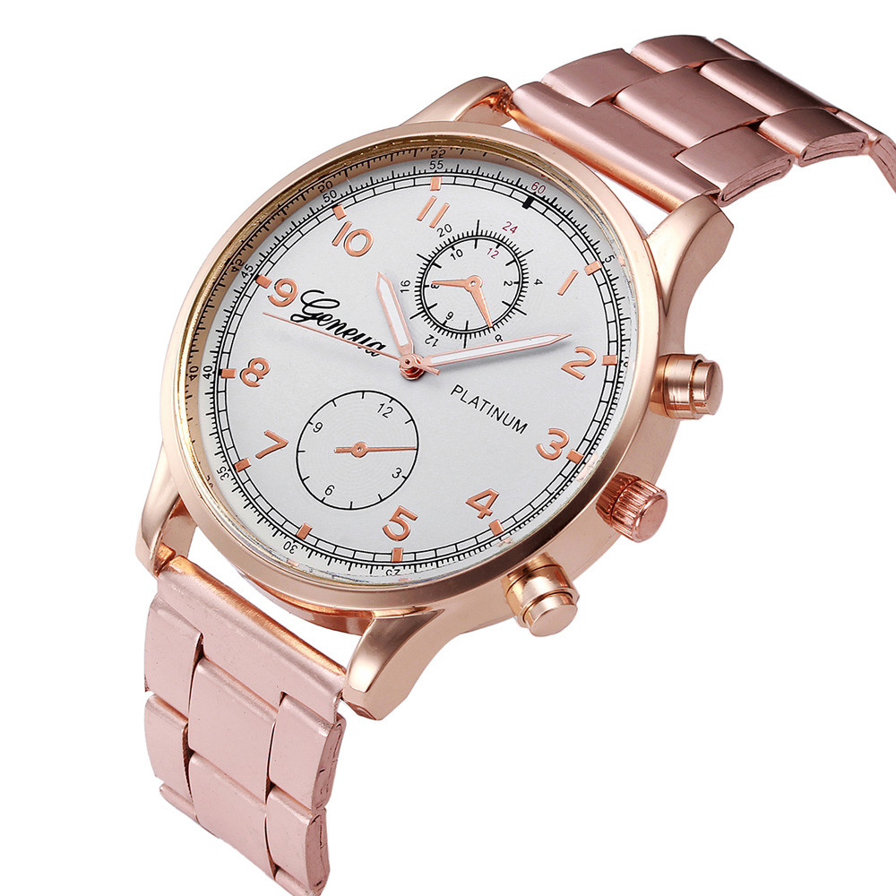 OTOKY 2018 NEW Lover Stainless Steel Sport Quartz Hour Wrist Analog Watch Fashion Causal Business Watches MAY10 TSALE D20