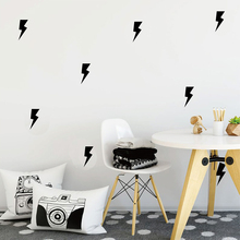 Lightning Wall Sticker Pattern Decals DIY Kids Room Modern Decors Cut Vinyl Stickers P11
