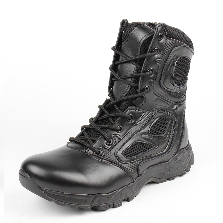 2017 Summer Tactical Boots Men Black Desert Safety Army Shoes Motorcycle Breathable Military Assault Combat Ankle